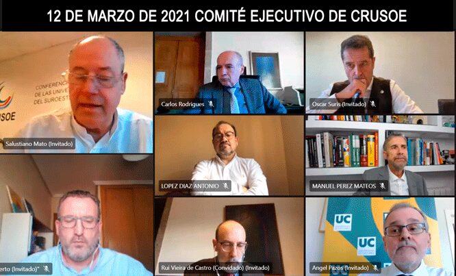 CRUSOE 12 DE MARZO DE 2021 COMITÉ EJECUTIVO DE CRUSOE
