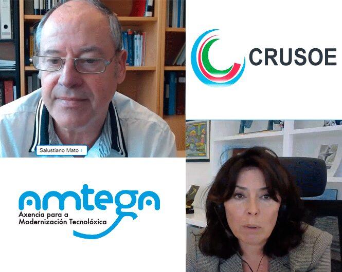 CRUSOE Y AMTEGA PARA EL PROYECTO DE PATRIMONIO CULTURAL DIGITAL